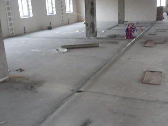 Разметка будущих помещений офисов на этаже