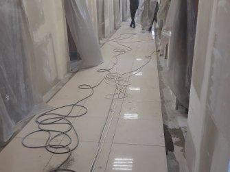 Укладка керамогранитной плитки 600х600 мм