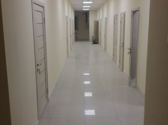 Законченный вид коридора
