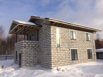 Строительство дома из газобетона в 2 город Череповец